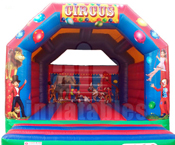 Circus adult bouncy castle