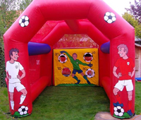 Penalty football shoot out