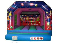 Kids disco party castle