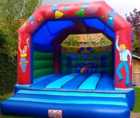 Crazy Party Bouncy castle