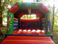 medival madness bouncy castle for hire