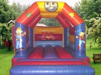 Tots cartoon capers Bouncy castle