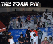 Foam party hire