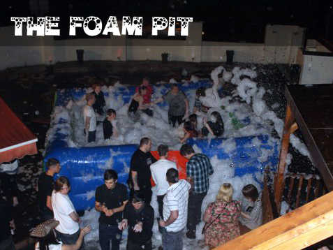 Foam cannon hire